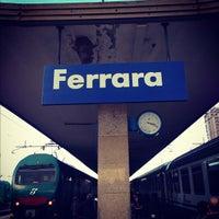 Photo taken at Stazione Ferrara by Afanasiadi V. on 11/6/2012