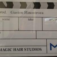 Photo taken at Magic Hair Studios & Post by Gaston H. on 10/2/2013