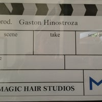Photo taken at Magic Hair Studios & Post by Gaston H. on 6/11/2013