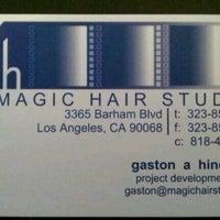 Photo taken at Magic Hair Studios & Post by Gaston H. on 5/8/2013