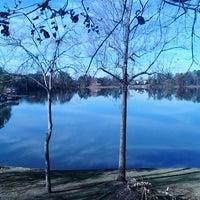Photo taken at Lake Tobosofkee by Kacey D. on 11/28/2013