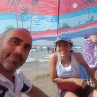 Photo taken at Cebeci Beach by Yzgn I. on 7/19/2018