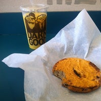 Photo taken at Einstein Bros Bagels by Summer S. on 10/20/2012