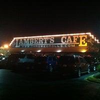 Photo taken at Lambert's Cafe by Nick B. on 11/10/2012