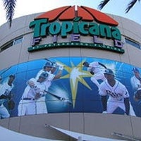 Photo taken at Tropicana Field by Camaron on 4/2/2013