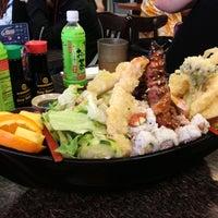 Photo taken at Sushi & Teri by Ami H. on 4/28/2013