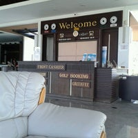 Photo taken at Dancoon Golf Club by Thammawat I. on 1/19/2013