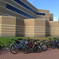 Photo taken at Mays Business School by Marcus C. on 9/11/2013