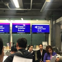 Photo taken at Transfer Check-In West by Daewook Ban on 2/15/2017