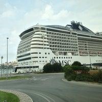 Photo taken at Dubrovnik Port by Daewook Ban on 4/13/2013