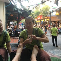 Photo taken at Khao San Thai Massage by Daewook Ban on 1/31/2016