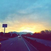 Photo taken at Manisa - Akhisar Yolu by Selen Ö. on 1/13/2015