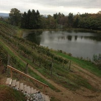 Photo taken at Blue Mountain Vineyards & Cellars by The Tiny TieRant on 10/6/2012