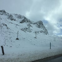 Photo taken at Julier Pass 2284m by Christoph E. on 1/10/2016