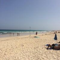 Photo taken at Atlantic Ocean, Oliva Beach by Egor Z. on 10/3/2014