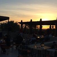 Photo taken at Rooftop Bar Bab Al Shams by Yukko Y. on 3/26/2016
