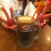 Photo taken at A & W by Jody D. on 11/16/2013