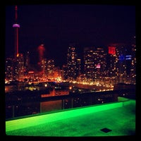 Photo taken at Thompson Rooftop Lounge by Mark S. on 5/18/2013