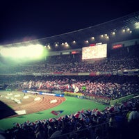 Photo taken at Nissan Stadium by K K. on 7/13/2013