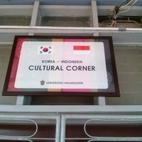 Photo taken at Korea-Indonesia Cultural Corner by Wawan Laon H. on 8/7/2014
