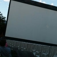 Photo taken at Open Air Kino by Andreas on 7/31/2013