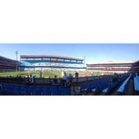 Photo taken at Loftus Versfeld Stadium by GlynnЯyan on 6/23/2013