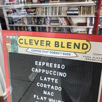 Photo taken at Clever Blend by Aaron B. on 5/24/2017