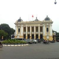 Photo taken at Nhà Hát Lớn Hà Nội (Hanoi Opera House) by alan K. on 9/18/2012