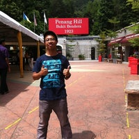 Photo taken at Penang Hill Railway Lower Station by Syed Eddy Afifi S. on 11/18/2012