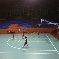 Photo taken at Hall A Basketball by Nizar N. on 5/17/2016