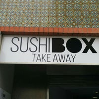 Photo taken at Sushi Box by André R. on 7/27/2014