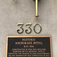 Photo taken at Historic Anchorage Hotel by Gary M. on 5/22/2017