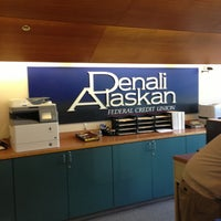 Photo taken at Denali Alaskan FCU by Gary M. on 7/10/2013