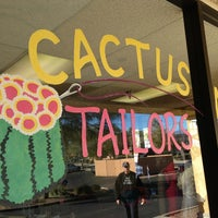 Photo taken at Cactus Needle Tailors by Gary M. on 1/5/2013