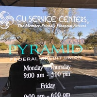 Photo taken at Pyramid Federal Credit Union by Gary M. on 12/26/2016