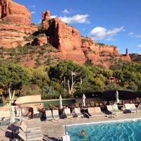 Photo taken at Enchantment Resort by Gary M. on 10/30/2013