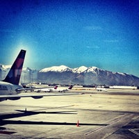 Photo taken at Salt Lake City International Airport (SLC) by arquitecta on 5/3/2013