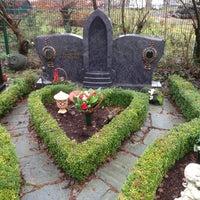 Photo taken at Ostfriedhof by Thomas K. on 12/22/2012