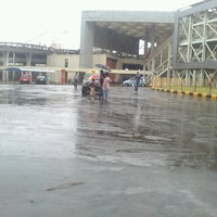 Photo taken at Kharghar Railway Station by Sumit S. T. on 6/9/2013
