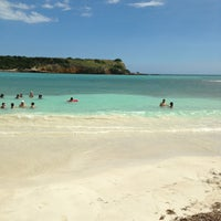 Photo taken at Playa Sucia by Laura J. on 1/20/2013
