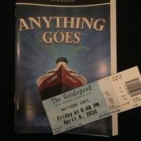 Photo taken at Goodspeed Opera House by Carol M. on 4/8/2016