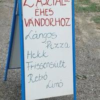 Photo taken at Két asztal az éhes vándorhoz by Mzso on 6/29/2013