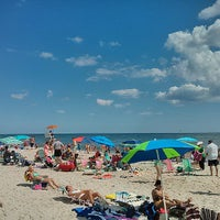 Photo taken at Robert Moses State Park Beach by Shuichi A. on 8/4/2013