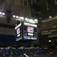 Photo taken at Crown Coliseum by Earl N. on 2/8/2013