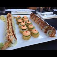 Photo taken at Banbu Sushi Bar & Grill by Janice P. on 10/16/2012