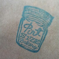 Photo taken at Pint Size Bakery & Coffee by Brendan on 11/17/2012