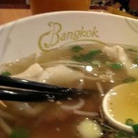 Photo taken at Bangkok Noodles & Thai BBQ by Joey P. on 4/3/2015
