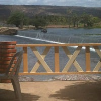 Photo taken at Barragem das Pedrinhas by Pedro G. on 10/16/2012