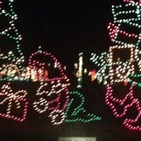 Photo taken at Cuero's Christmas in the Park by kyle m. on 12/25/2013