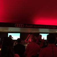 Photo taken at Audi Quattro Lounge by The T. on 8/26/2017